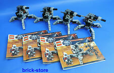 LEGO Star Wars (9488) Clone Trooper Canon / 4 Pièces (sans figurines)