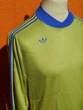 ADIDAS Jersey Maillot Vintage 80s Ventex Made in France Porté Worn #8 Trefoil