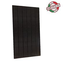 PANNELLO SOLARE MONOCRISTALLINO 300W 24V MODULO FOTOVOLTAICO ITALIANO all black
