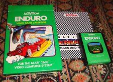 ENDURO w/ Box & Manual - Activision - Atari 2600 - 1983