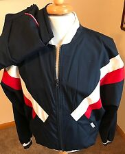 VINTAGE CHRISTIAN DIOR MONSIEUR TWO PIECE TRACK JOGGING WARM UP SUIT SZ LARGE