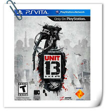 PSV UNIT 13 PlayStatio​n VITA Sony Computer Entertainment SCE Action Games