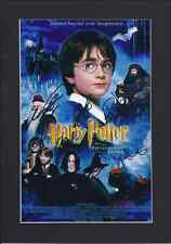 Harry Potter Cast Signed Photo PosterMounted Re-Print Size A4 Daniel Radcliffe