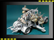 Resin figure Kit Hobbyfan 1/35 8.8cm Flak Crew Set3 (Firing At March)x5 HF571