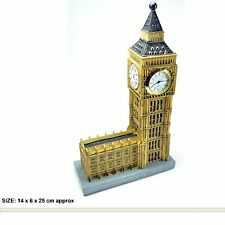 LONDON PARLIAMENT HOUSE BIG BEN MODEL CLOCK BRITISH SOUVENIR GIFT
