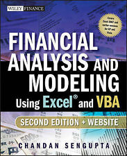 Financial Analysis and Modeling Using Excel and VBA by Chandan Sengupta...