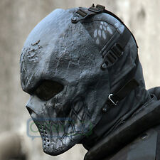 Halloween Cosplay Full Face Masks Hunting Costume Actical Military Black God Hot
