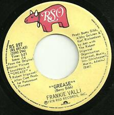 FRANKIE VALLI - GREASE - 1978 - RS 897 - *CANADA IMPORT* - 70s DISCO DANCE MOVIE