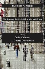Business as Usual: The Roots of the Global Financial Meltdown (Possible Futures