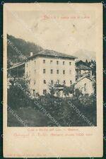 Belluno Astregal di Zoldo Besarel Scultore cartolina QT1317