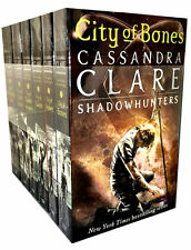 Cassandra Clare Mortal Instruments Series 6 Books Collection shadowhunters