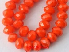 Wholesale Glass Crystal Faceted Rondelle Spacer Loose Beads Jewelry DIY Findings