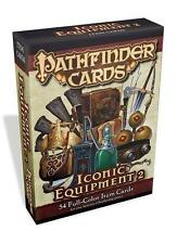 Pathfinder Cards: Iconic Equipment 2 Item Cards Deck by Paizo PZO 3047