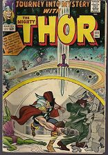 JOURNEY INTO MYSTERY #111 MARVEL 12/64 MIGHTY THOR vs HUMAN COBRA & MR HYDE VG-