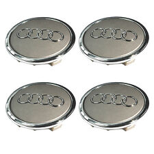 Set of 4 (4x) Center Wheel Rim Hub Cap 4B0 601 170 A - Audi A3 A4 RS4 A6 A8 Q5