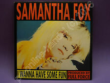 "12"" Vinyl Single Samantha Fox - I wanne have some fun (J-112) Germany 1989"