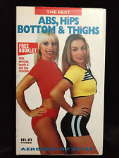 AEROBICS OZ STYLE ~ ABS, HIPS, BOTTOM & THIGHS  ~ RARE VHS VIDEO ~ FREE POST