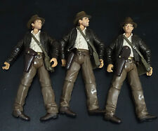 lot of 3 Indiana Jones Raiders of the Lost Ark  no gun only figure #s3
