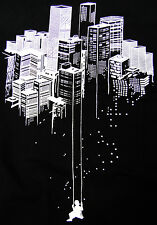 Playground Town Swing Dream Graffiti Art Men T-shirt banksy -XL-