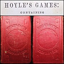 Wild West Era 1845 Hoyles Games Book of Laws & Playing Cards Rules Whist & Faro