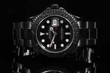 Rolex Stainless Steel PVD Yachtmaster 16622, Black Dial on Oyster Bracelet