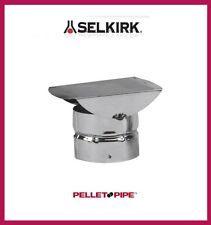 "SELKIRK 3"" VP Pellet Pipe Horizontal Termination Cap #3VP-HC"