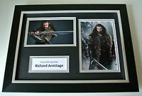 Richard Armitage Signed A4 FRAMED photo Autograph display Spooks Hobbit TV & COA