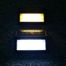 2PCS6LED Solar Power PIR Motion Sensor Wall Light Outdoor Waterproof Garden Lamp
