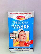 4x Schaebens Peel-Off Maske Reinigt und Klärt á 15 ml  (10ml/1,08€)