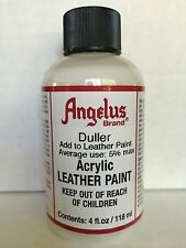 Angelus acrylic leather paint Duller 4oz.