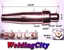 WeldingCity Acetylene Cutting Tip 3-101 Size #1 for Victor Oxyfuel Torch | USA