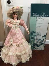 Audrey Porcelain Artist Doll Doll 32'' by Thelma Resch Masterpiece Gallery