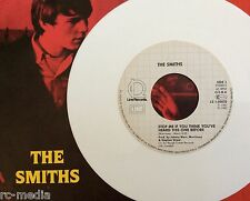 THE SMITHS -Stop Me If You Think/Girlfriend In A Coma- German White Vinyl 7""