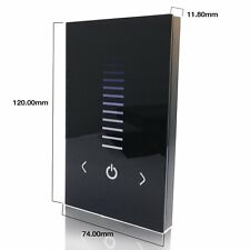 Touch Panel Dimmer Controller Wall Switch for Single Color LED Strip Light LAMP