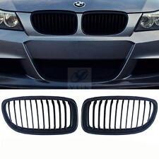 Black Front Kidney Grill Grille For BMW E90 E91 LCI 323i 325i 328i 335i 4D 09-11