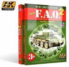 Ak Interactive AKI-038- F.A.Q. AFV Painting Techniques 2 3rd Edition