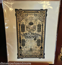 Disney Parks Exclusive New Orleans Square Deluxe Print by Jeremy Fulton New