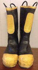 Ranger Shoe Fit Fire Walker Firefighting Rubber Boots 11 Medium