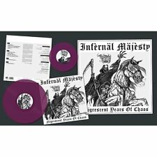 "INFERNAL MAJESTY - Nigrescent Years of Chaos LP + 7"" (LIM.300 PURPLE V.*RAZOR)"