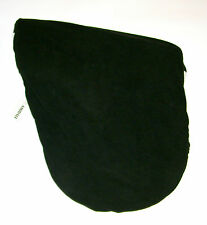 SADDLE COVER BLACK FLEECE GREAT QUALITY HORSE RIDING EQUESTRIAN BNWT AMIDALE