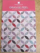 """Orange Peel Quilt Pattern for 5"""" Squares New by MSQC"""