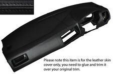 BLACK STITCH DASH DASHBOARD SKIN COVER FITS VW GOLF MK4 4 IV BORA JETTA 98-05