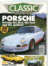 CLASSIC AND SPORTS CAR - October 1996