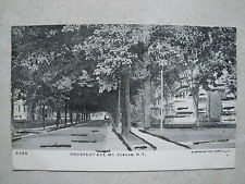 EARLY,UN-USED POSTCARD,BEFORE 1908,GLITTER POSTCARD, PROSPECT AVE.MT.VERNON,N.Y.