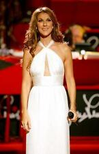 Celine Dion Poster White Gown24in x 36in