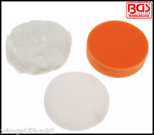 BGS - Polishing Pads For BGS 9259, Cordless Polisher, 100 mm Pro - 9259-4