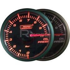 Prosport 45mm di Pressione olio bar manometro Amber / Cancella Motore Passo-Passo