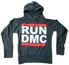 AMPLIFIED RUN DMC Logo HipHop Vintage Sweater Hoody Hoodie Kaputzen Shirt XS 34