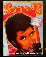 Sounds 04/77 Titelbild: Bryan Ferry, Zappa, Brain Festival, Gonzo goes Ethnic