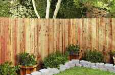 5 Pc Redwood Picket Wood Fence Panel Wooden Fencing 5 Individual Boards